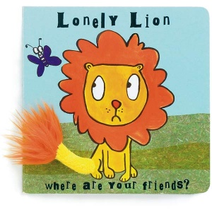 Lonely Lion Board Book