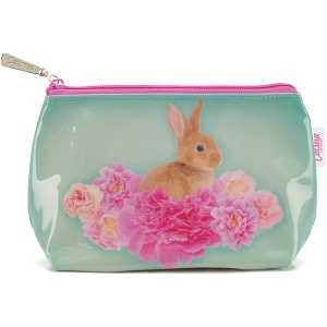 Bunny on Flowers Small Bag