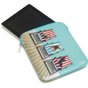 Deckchair Dogs Mini Tablet Sleeve