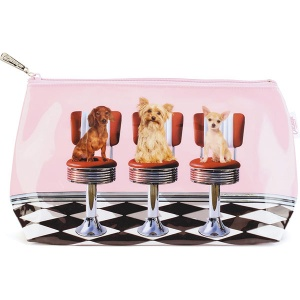 Diner Dogs Wash Bag