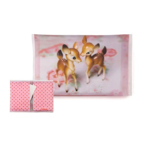 Deer on Rose Tissues