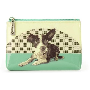 Etching Dog Make-Up Pouch