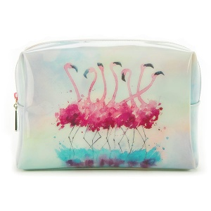 Flamingo Large Beauty Bag