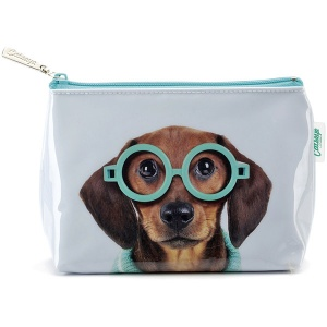 Glasses Dog Small Bag