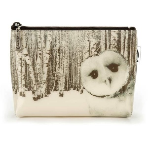 Owl in Woods Small Bag