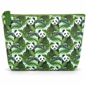 Panda in Palms Small Bag