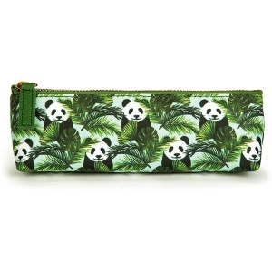 Panda in Palms Long Bag