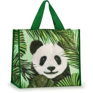 Panda in Palms Shopper