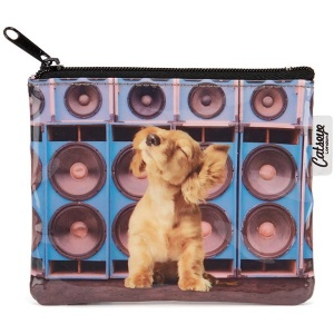 Speaker Dog Coin Purse