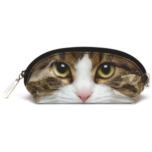 Tabby Cat Oval Bag