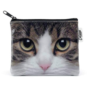 Tabby Cat Zip Purse