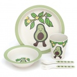 Amuseables Avocado Bamboo Bowl Set