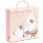 Amuseables Watermelon Muslin Cloths
