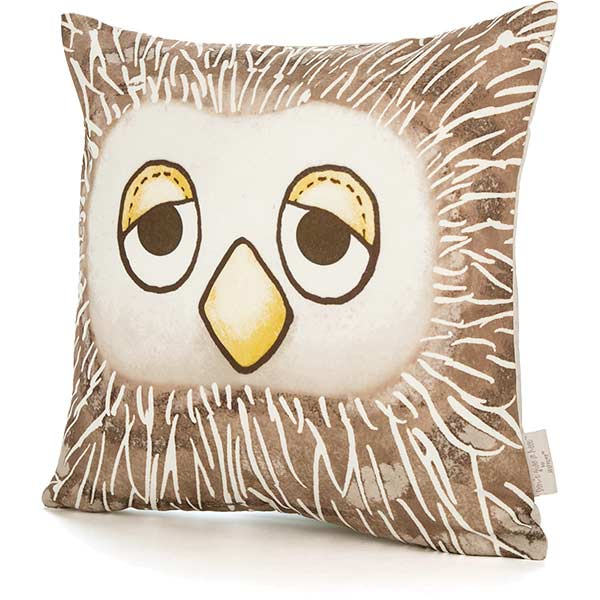 Don't Give a Hoot Owl Cushion