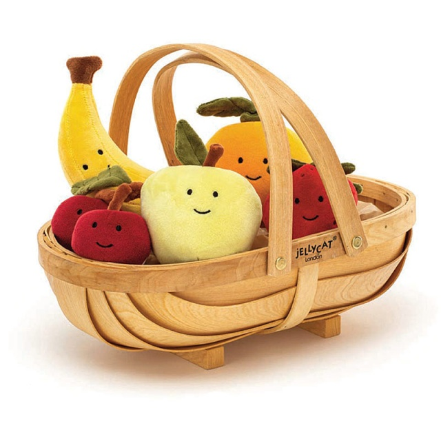 Fabulous Fruit Wooden Basket