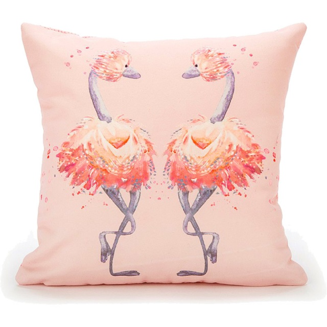 Glad To Be Me Pink Cushion