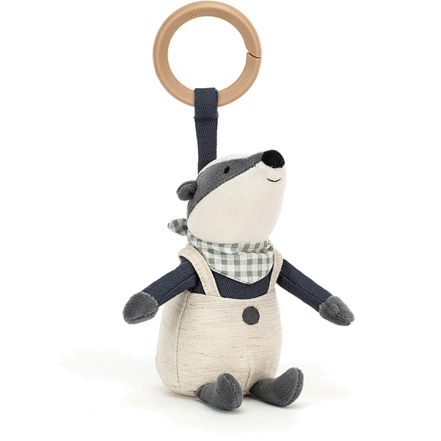 Little Rambler Badger Rattle