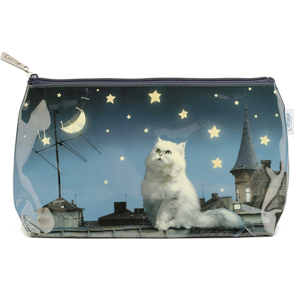 e83a781e970 Catseye Rooftop Cat Wash Bag | Jellyexpress.co.uk