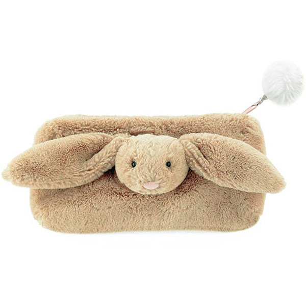 Bashful Beige Bunny Pencil Case