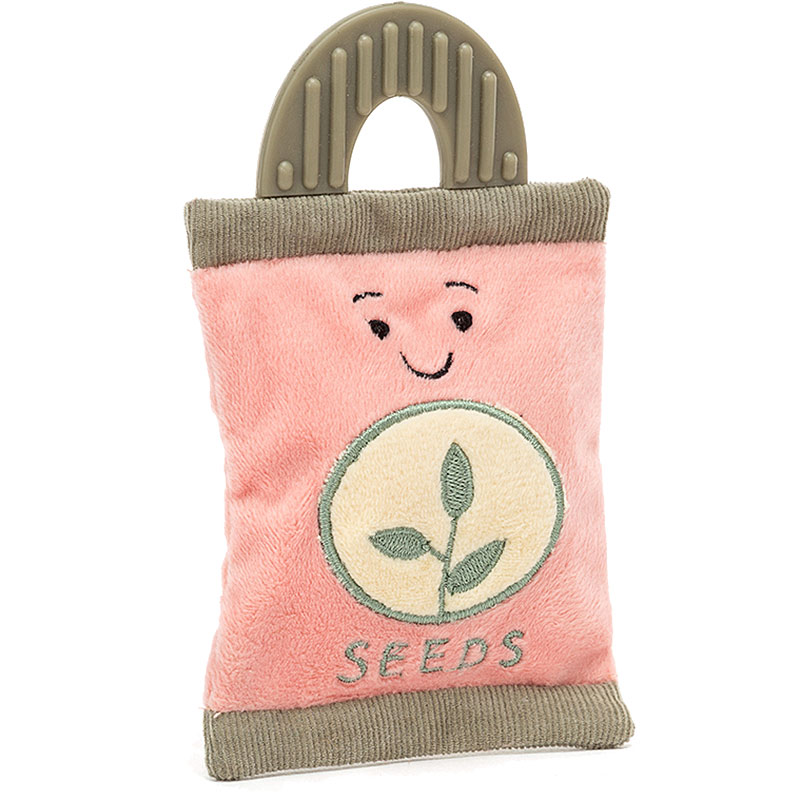 Whimsy Garden Seed Packet Rattle