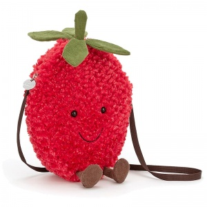 Amuseables Strawberry Shoulder Bag