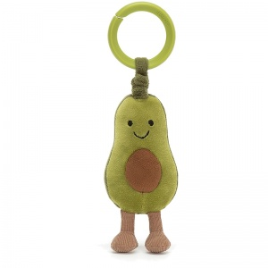 Amuseables Avocado Jitter & Rattle