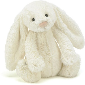 Bashful Cream Bunny