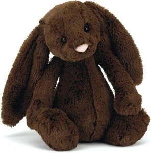 Bashful Chocolate Bunny