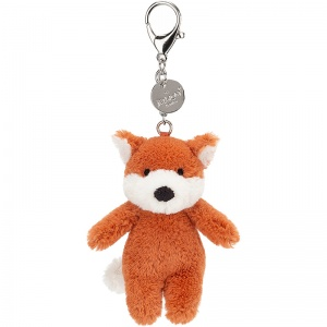 Bashful Fox Bag Charm