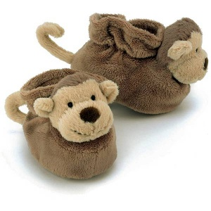 Bashful Monkey Booties