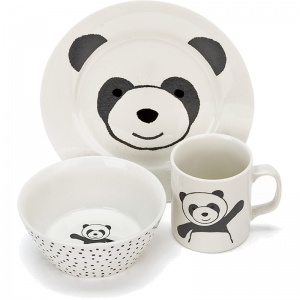 Harry Panda Ceramic Bowl Set