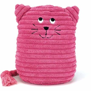 Pink Kitty Doorstop