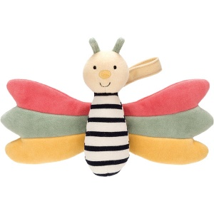 Doodlebug Butterfly Rattle