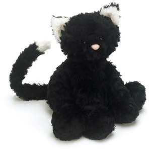 Fuddlewuddle Black Kitty