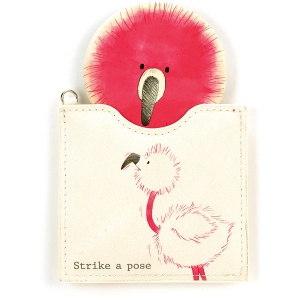 Flaunt your Feathers Pouch Mirror