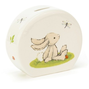 Bashful Bunny Ceramic Money Box