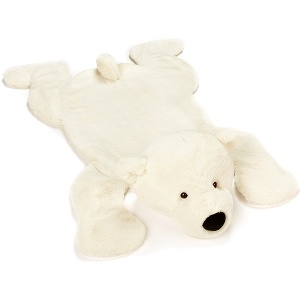 Perry Polar Bear Playmat