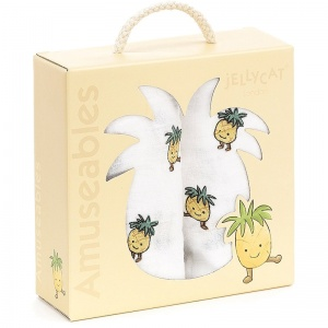 Amuseables Pineapple Muslin Cloths