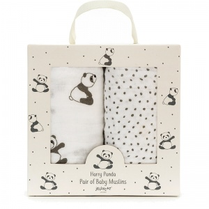 Harry Panda Muslin Cloths