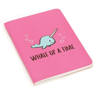 Seas the Day Fuchsia A6 Notebook