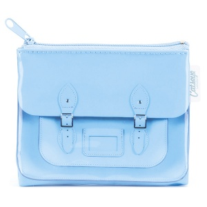 Blue Satchel Coin Purse
