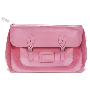 Pink Satchel Wash Bag
