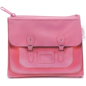 Pink Satchel Coin Purse