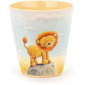 The Very Brave Lion Melamine Cup