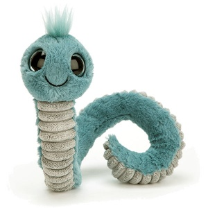 Wiggly Blue Worm