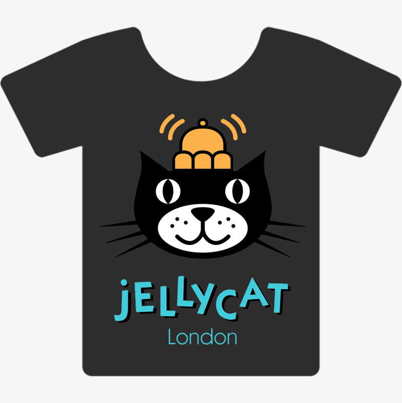 Personalised Jellycat T-shirt